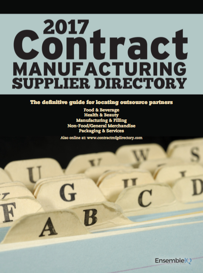 2017 Contract Manufacturing Supplier Directory