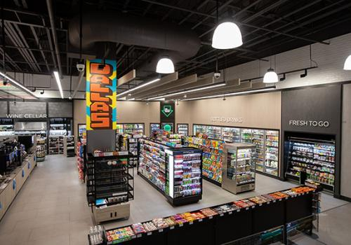 interior of the store