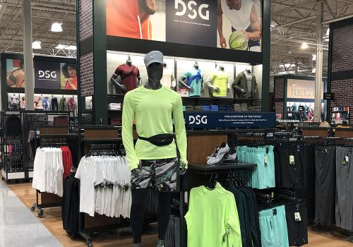 men's mannequins and clothing