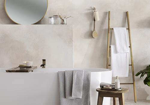 bathroom accessories and furniture